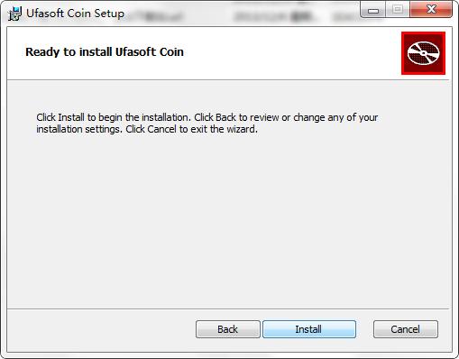 比特币挖矿机(Ufasoft Coin)截图