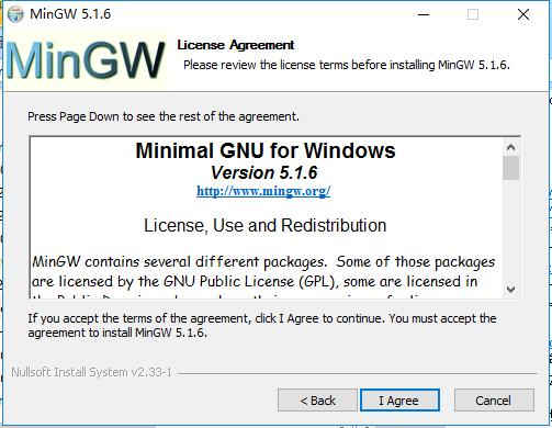 MinGW截图
