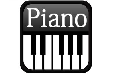 键盘钢琴段首LOGO