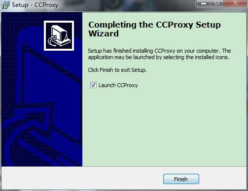 CCProxy截图