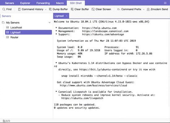 Termix(SSH客户端)截图