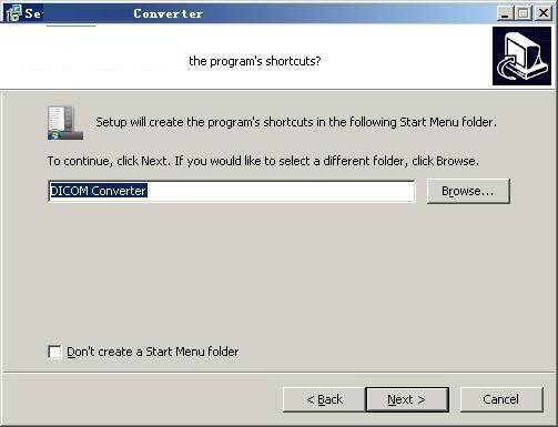 DICOM Converter截图