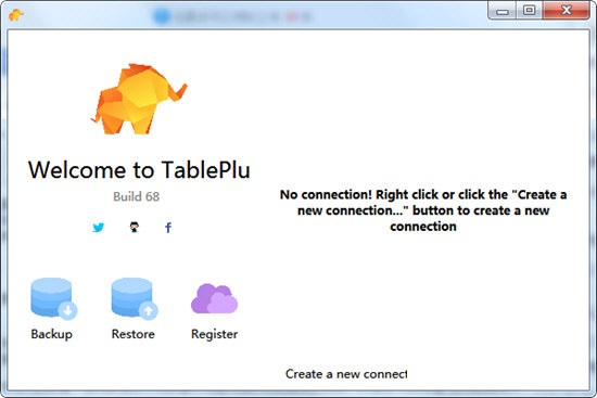 TablePlus截图