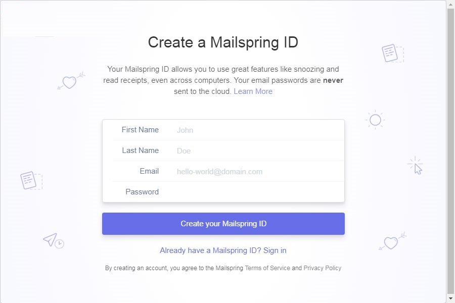 MailSpring截图