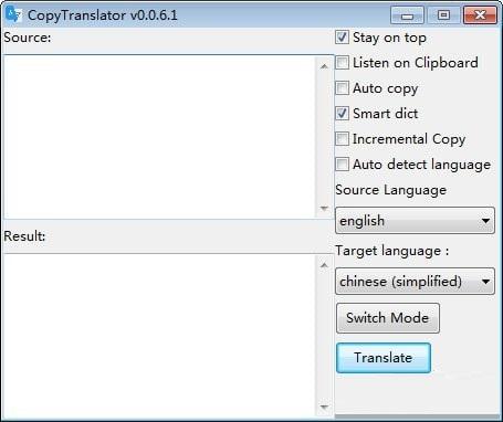 CopyTranslator截图