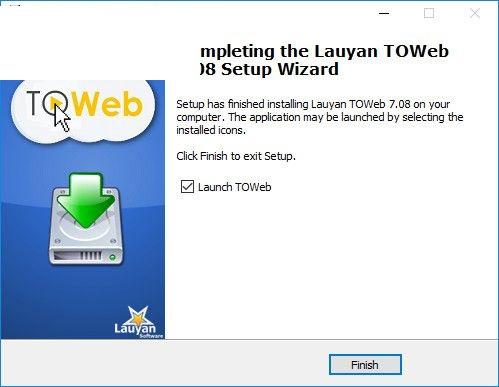 Lauyan TOWeb截图
