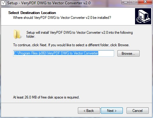VeryPDF DWG to Vector Converter截图