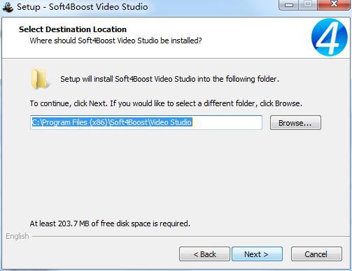 Soft4Boost Video Studio截图
