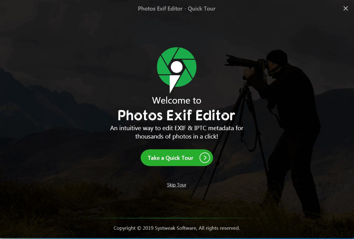 Photos Exif Editor