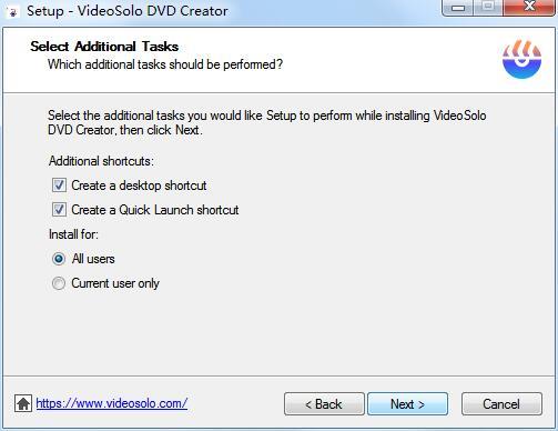 VideoSolo DVD Creator截图