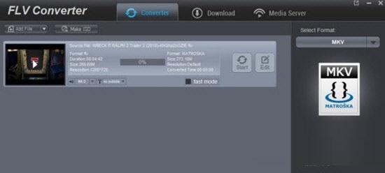 Dimo FLV Video Converter截图