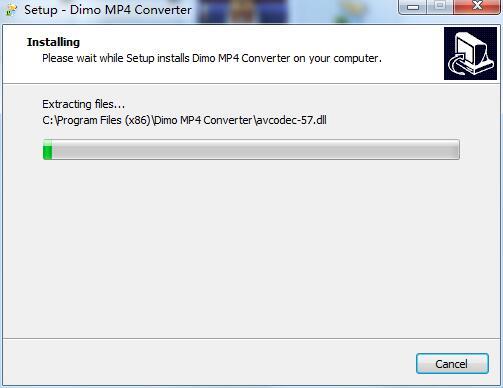 Dimo MP4 Video Converter截图