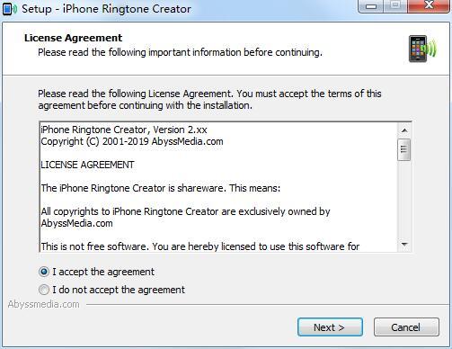 Abyssmedia iPhone Ringtone Creator截图