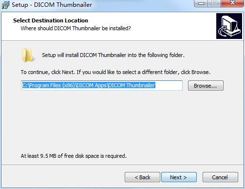 DICOM Thumbnailer