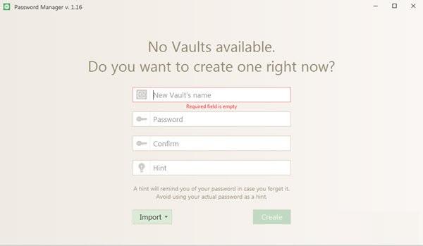 Icecream Password Manager截图
