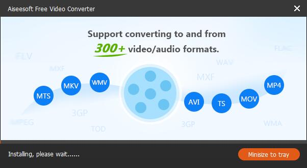 Aiseesoft Free Video Converter截图