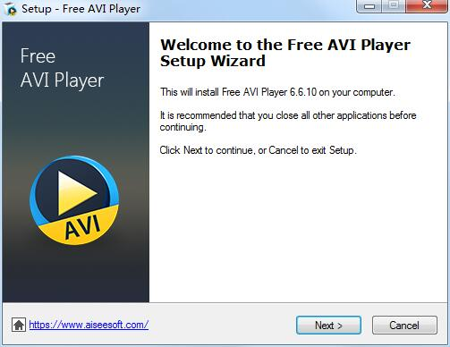 Aiseesoft Free AVI Player截图