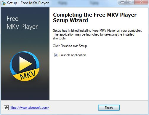 Aiseesoft Free MKV Player