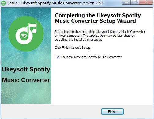 UkeySoft Spotify Music Converter截图