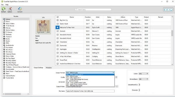 TuneFab Apple Music Converter截图