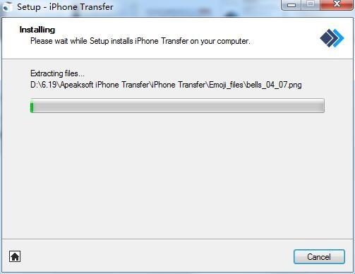 Apeaksoft iPhone Transfer截图