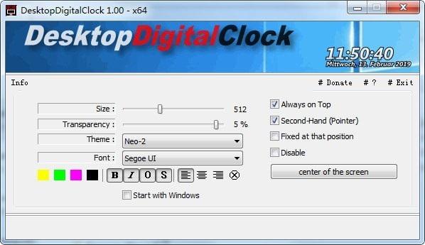 DesktopDigitalClock