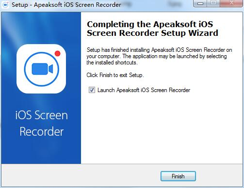 Apeaksoft iOS Screen Recorder