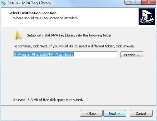 MP4 Tag Library截图