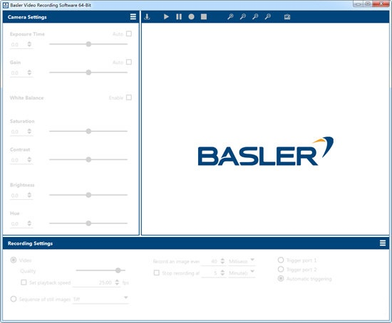 Basler Video Recording Software