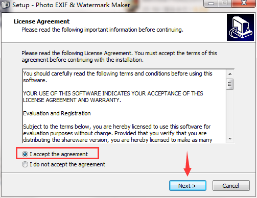 Photo EXIF And Watermark Maker