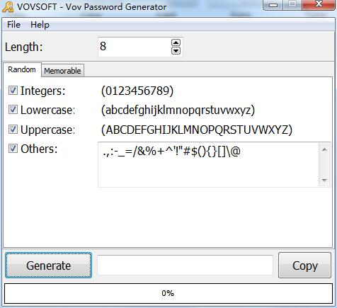 Vov Password Generator截图1