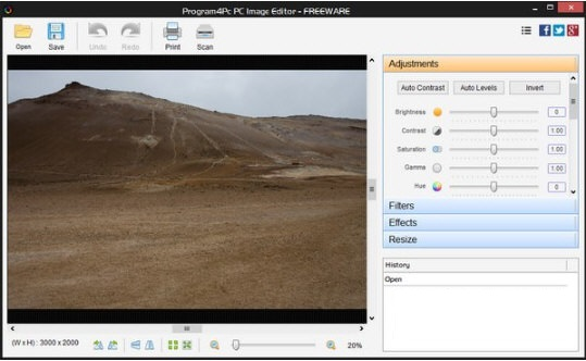 Program4Pc PC Image Editor