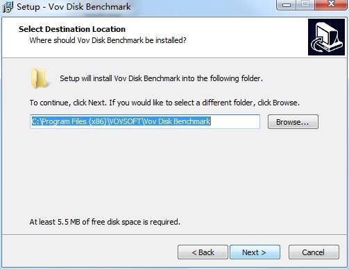 Vov Disk Benchmark截图