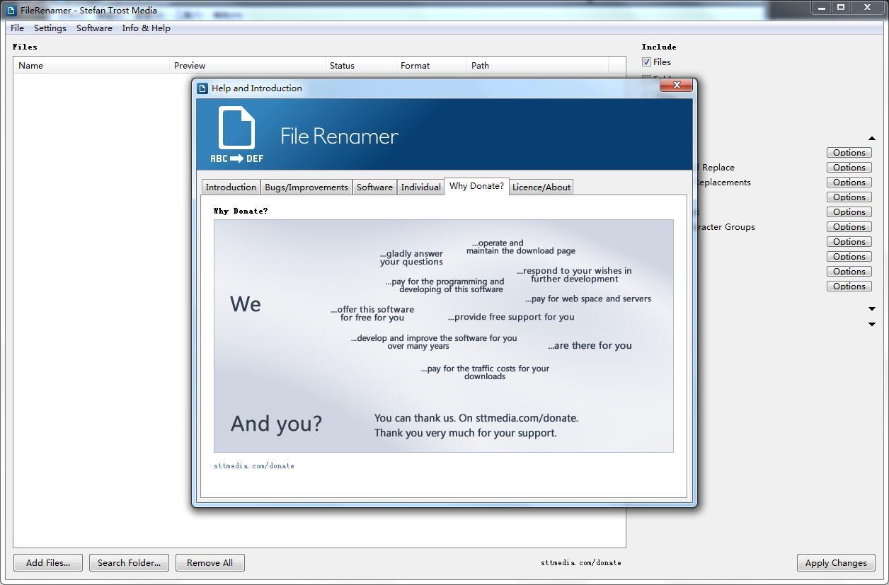FileRenamer截图
