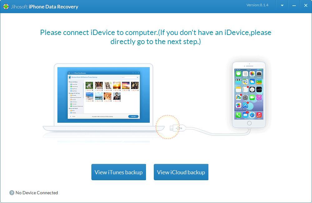 Jihosoft iPhone Data Recovery