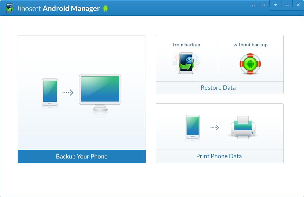 Jihosoft Android Manager截图1