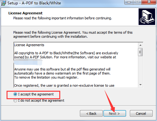 A-PDF To Black/White
