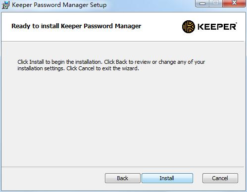 Keeper Password Manager截图