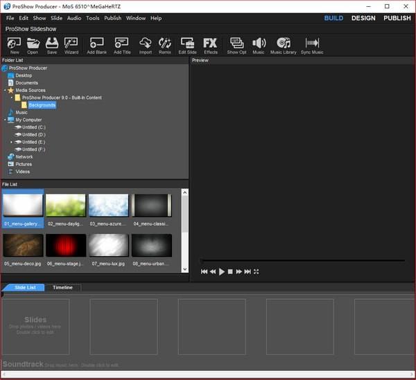Photodex Proshow Producer 9截图