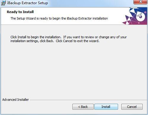 iBackup Extractor