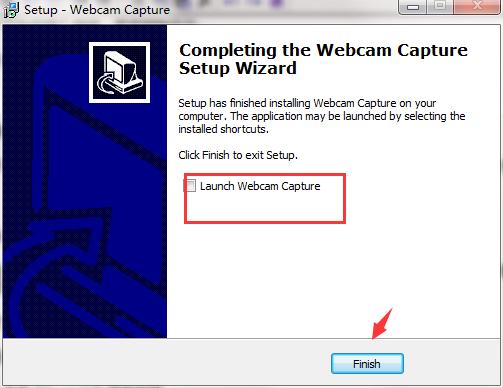 Webcam Capture截图