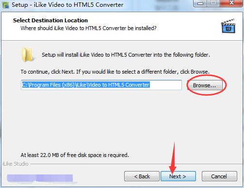 Amazing Video to HTML5 Converter截图