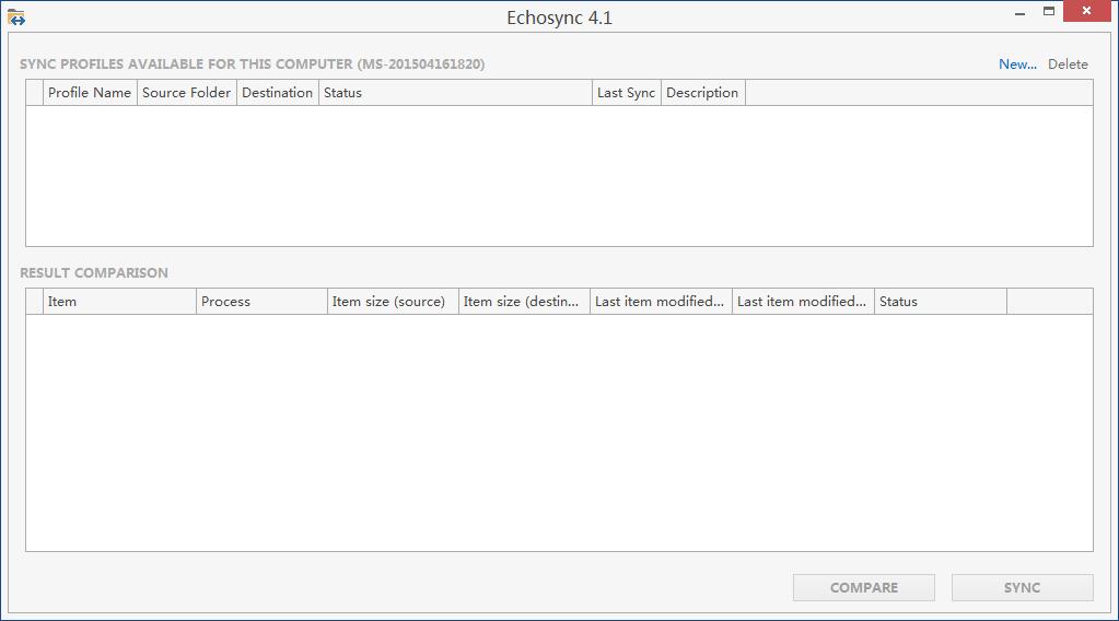 Echosync截图