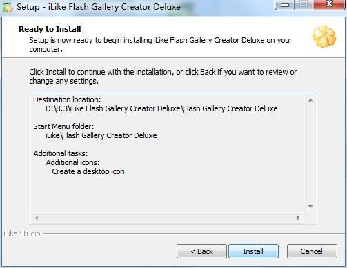 iLike Flash Gallery Creator Deluxe截图