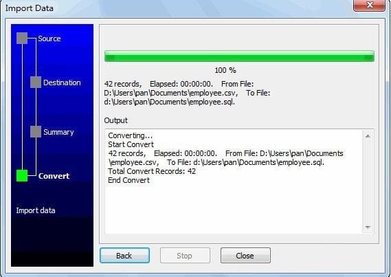 Data File Converter截图