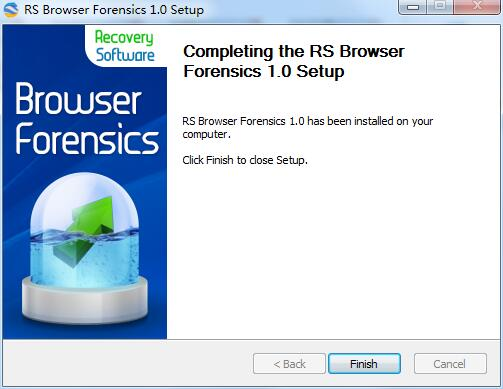RS Browser Forensics截图