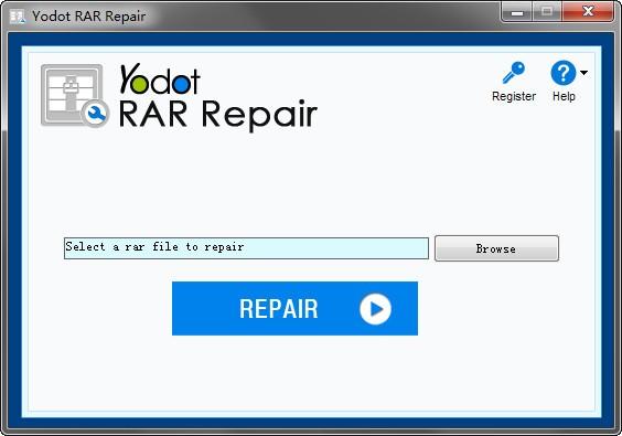 yodot rar repair