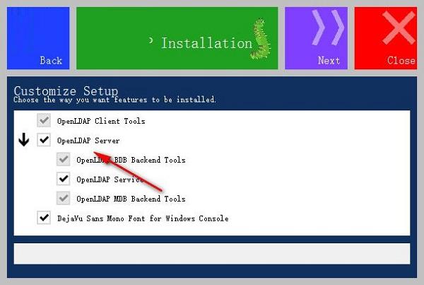 OpenLDAP客户端截图