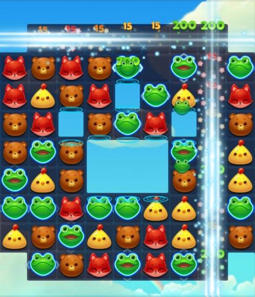 开心消消乐第6关图文攻略 消除70只绿色青蛙