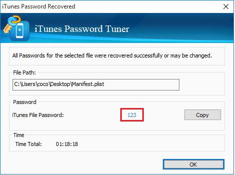 Cocosenor iTunes Password Tuner截图